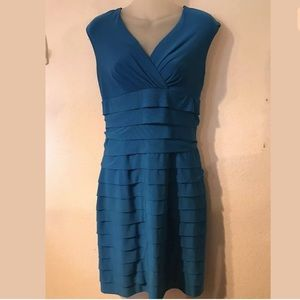 AMERICAN LIVING sleeveless dress size 2 blue